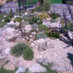Альпинарий с натуральным камнем