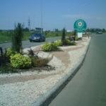 Озеленение придорожной зоны